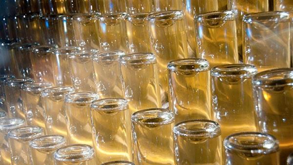 Des sucres naturels transformés et alcool